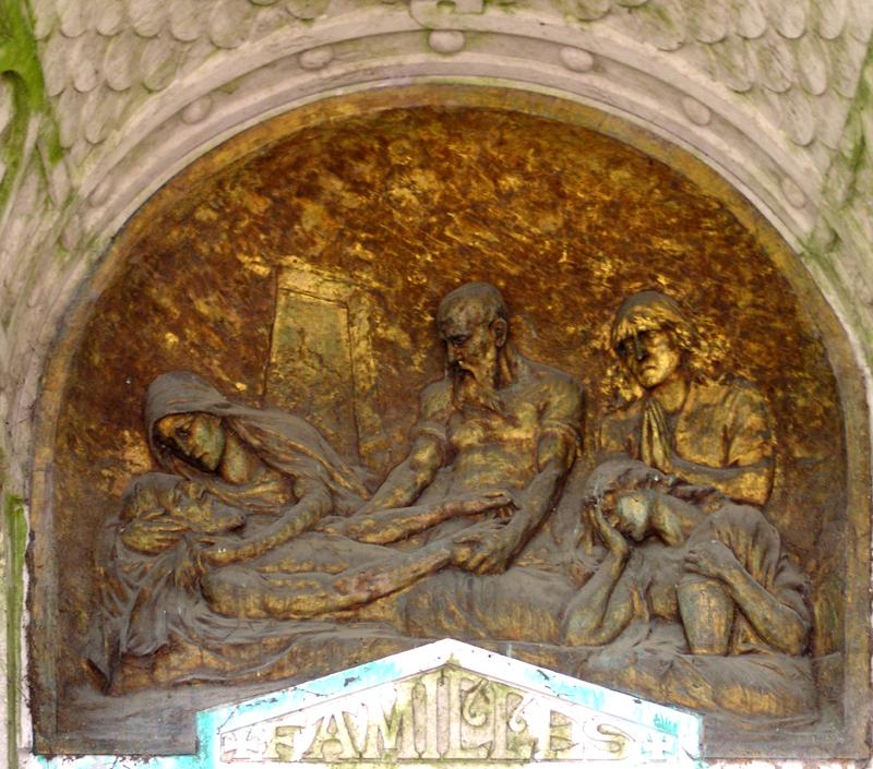 Mise au tombeau- Famille Coquel-Crété