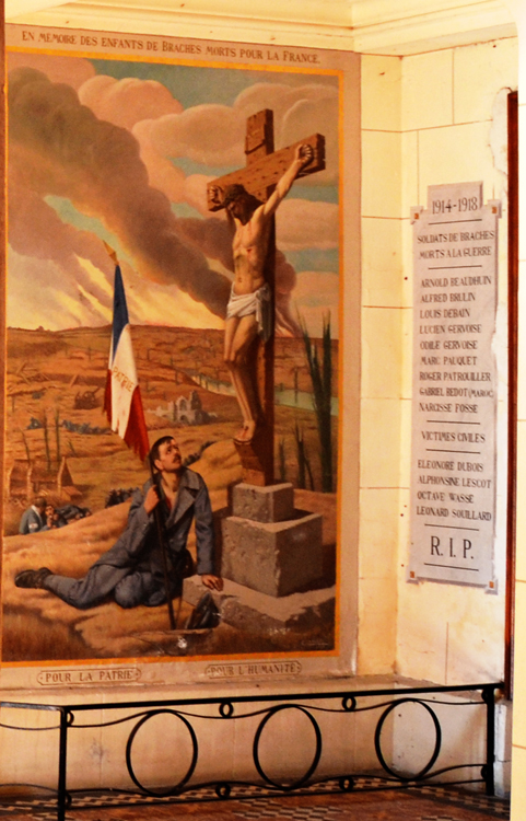 BRACHES: Une toile d'Ernest Cracco, peintre belge né à Mouscron