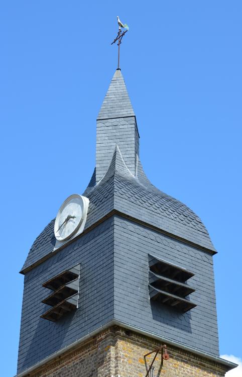 Clocher de l'église de Wadicourt (Dompierre-sur-Authie)