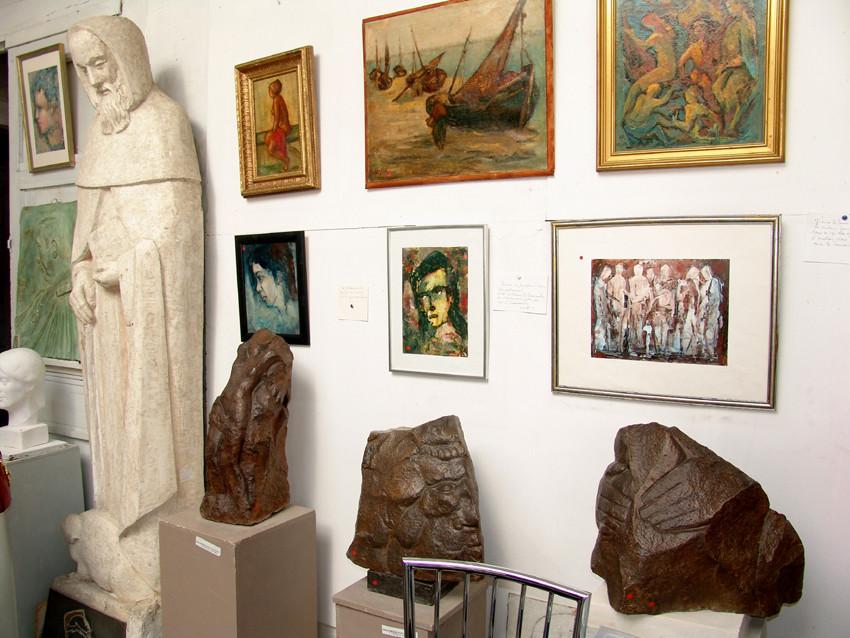 Atelier de Léon Lamotte-sculpteur- Montières-AMIENS