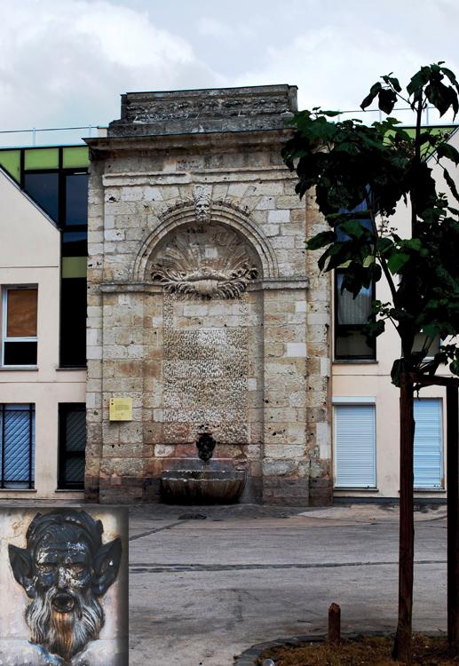 Amiens: la fontaine Saint-Julien
