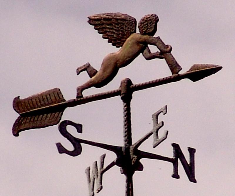 Girouette à Méricourt-sur-Somme
