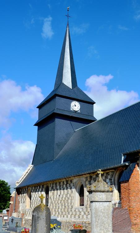L'église Saint-Jean-Baptiste de Fourcigny