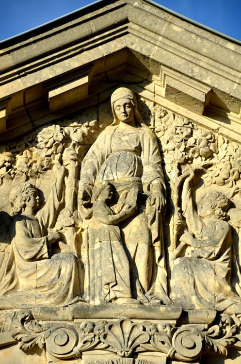 Sainte-Anne et sa fille Marie