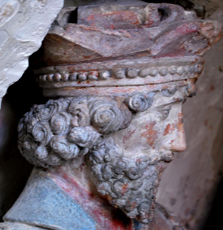 Le sépulcre de l'église d'Oust-Marest- Joseph d'Arimathie