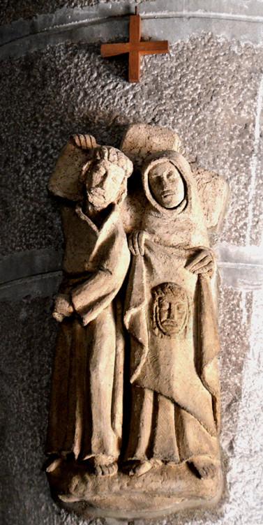 6-Véronique essuie le visage du Christ