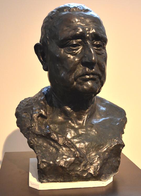 Albert Roze-Le buste de son père: Domice