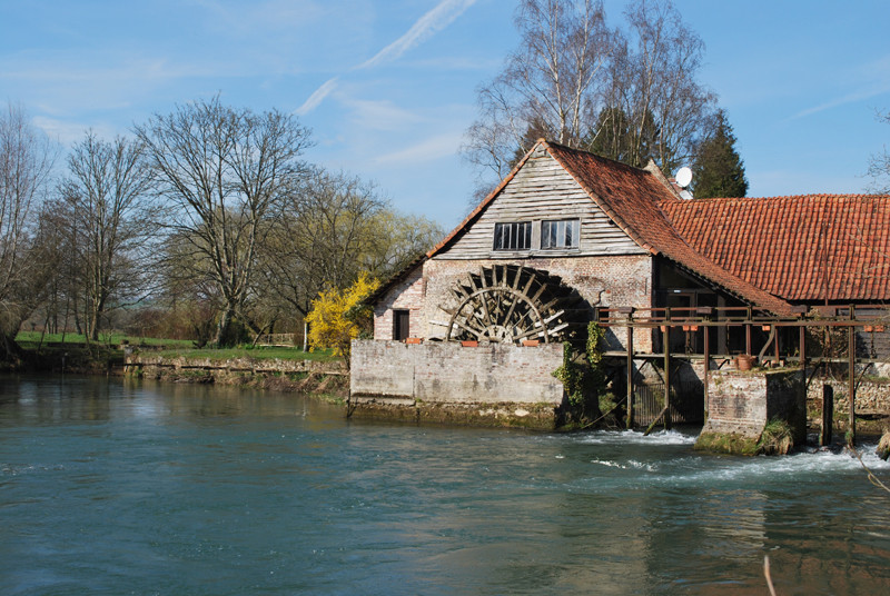 Moulin à Maintenay
