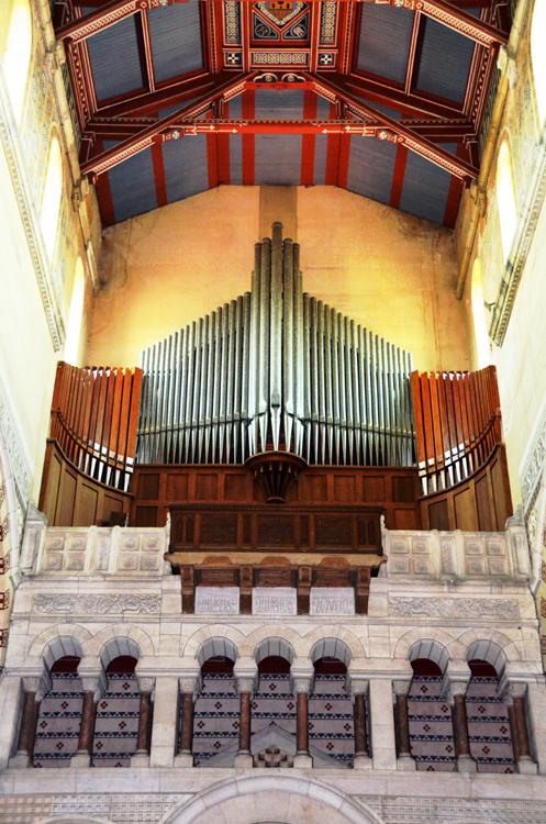 Les orgues de la Basilique d'Albert