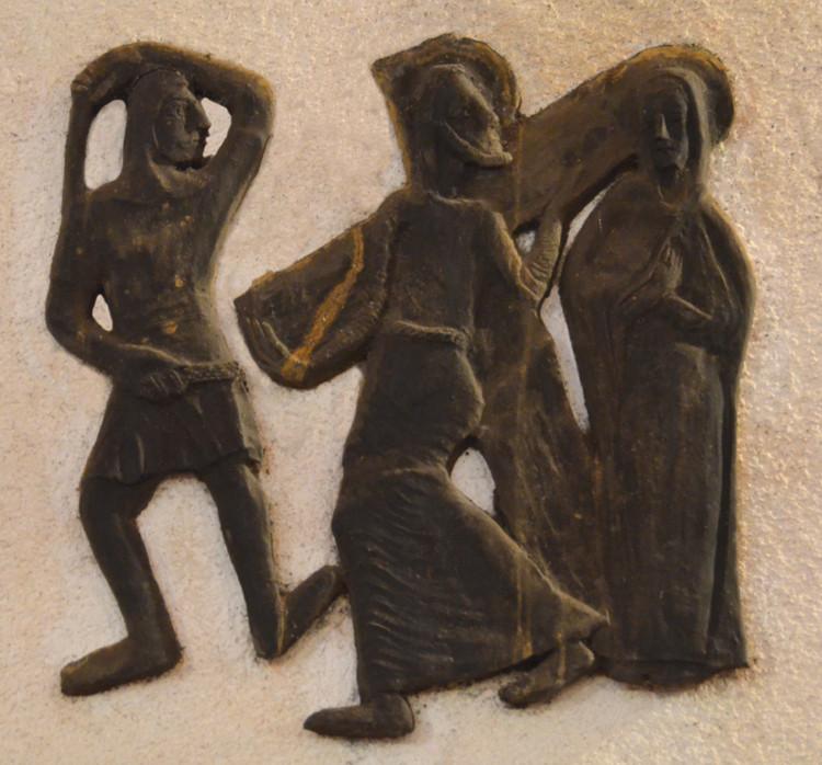 4- Jésus rencontre sa mère