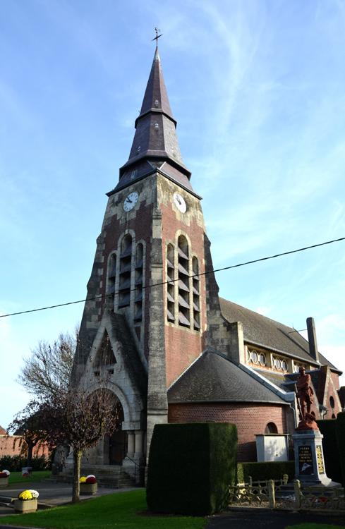 L'église Saint-Martin de Flers