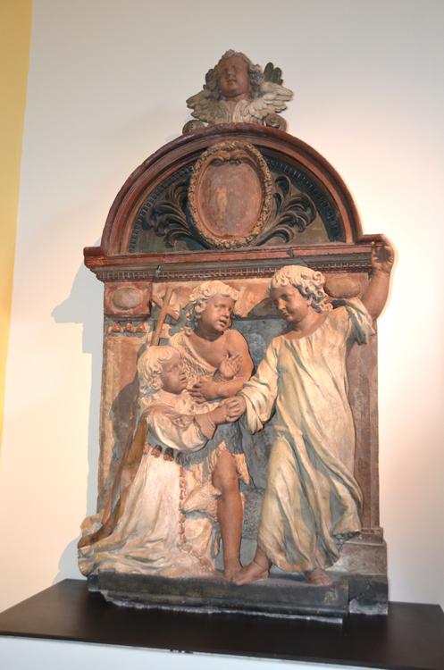 Nicolas Blasset-Monument funéraire de son fils