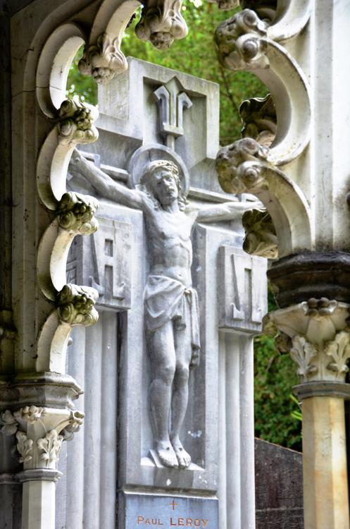 Cimetière de la Madeleine- Tombe de la famille Leroy- Architecte: Pierre Ansart
