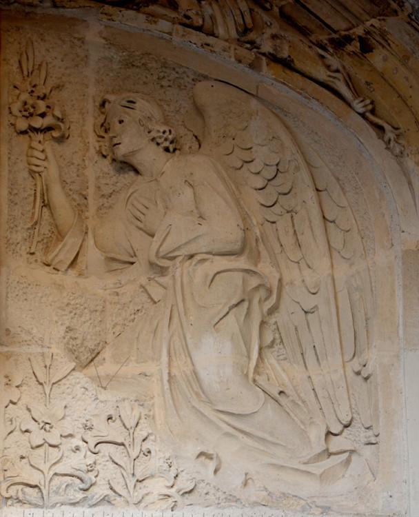 Portail de l'église Notre-Dame de Doullens