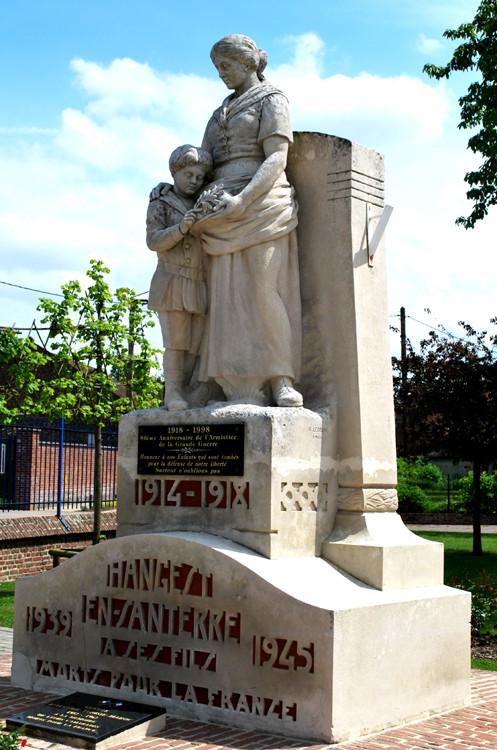 Monument aux Morts d'Hangest-en-Santerre