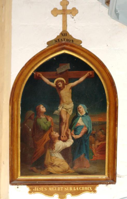 Courcelles-sous-Moyencourt- Eglise de la Nativité de Saint-Jean-Baptiste