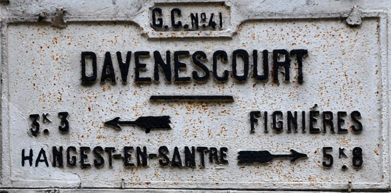 Davenescourt- Canton de Montdidier