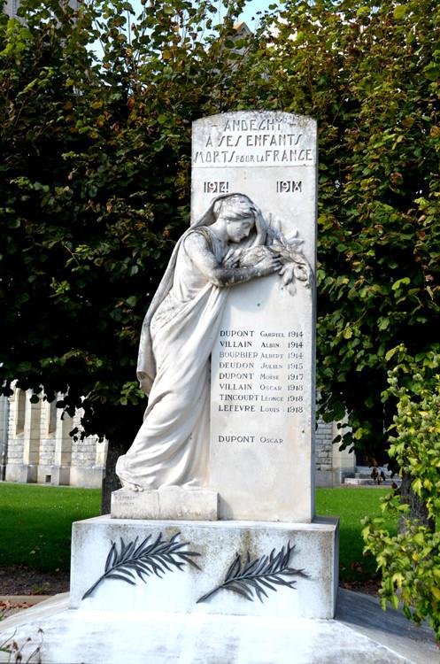Monument aux Morts d'Andéchy