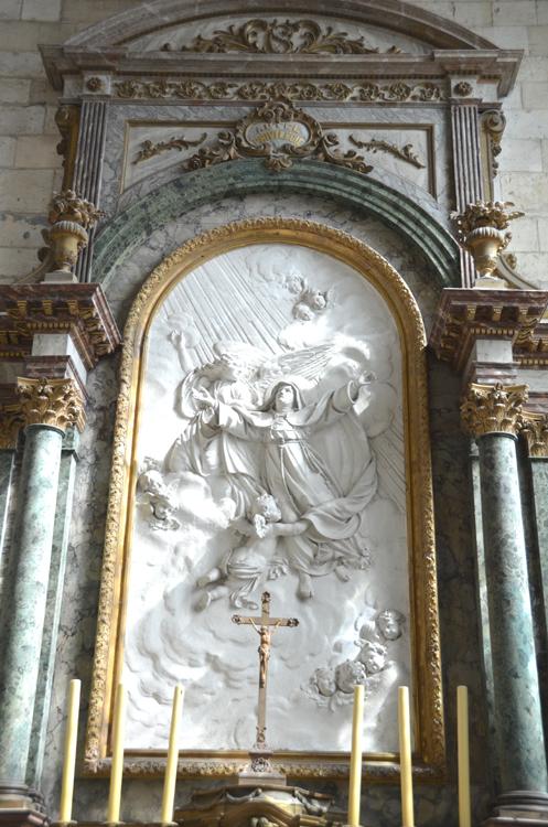 L'apothéose de Sainte-Colette- Abbatiale de Corbie