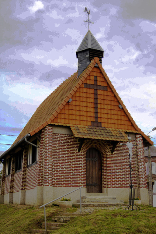 Vismes-au-Val (Morival) chapelle Sainte-Agathe- Ph: Patrice Lenne