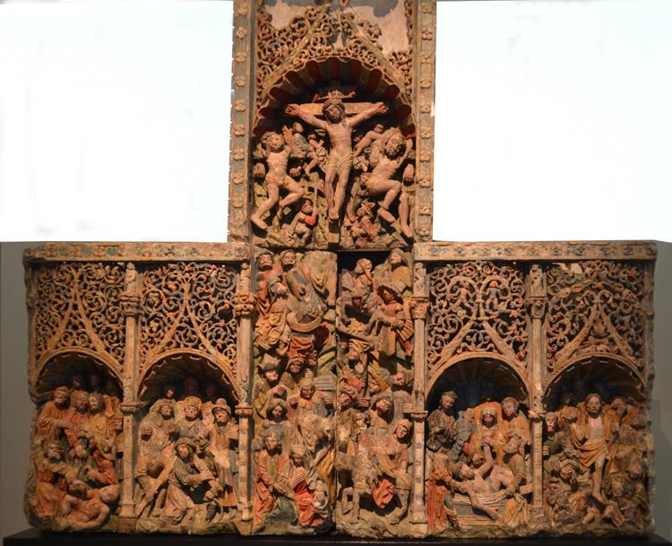 Retable de l'église de Méharicourt