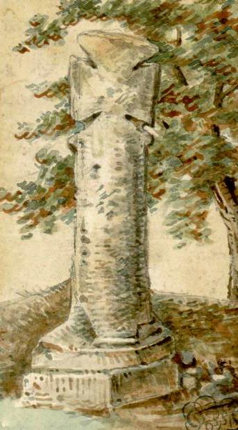 Villers-sur-Mareuil- Aquarelle O. Macqueron- 21-09-1859- BM Abbeville