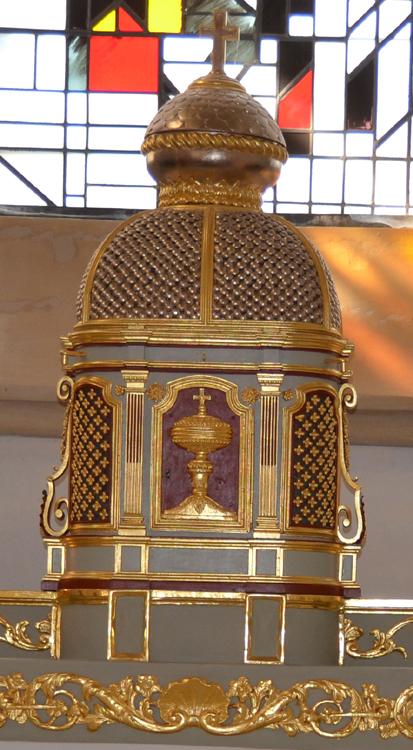 Tabernacle de l'église Saint-Fuscien