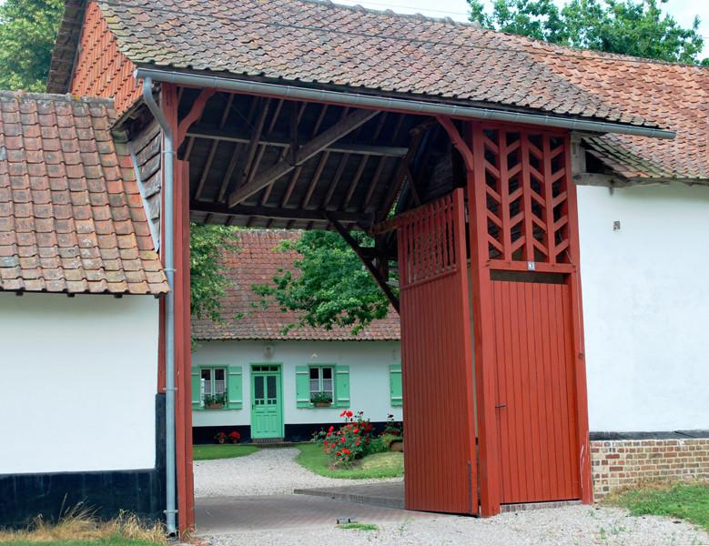 Porte charretière à Tours (Houdent)