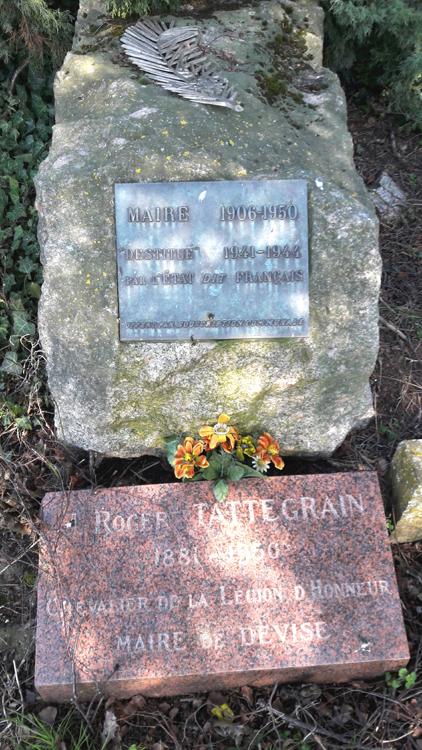 Tombe de Roger Tattegrain