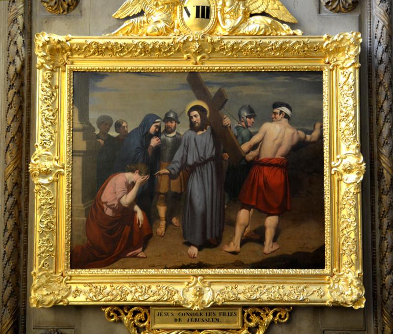 Jésus console les filles de Jérusalem