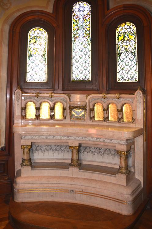 Amiens: la chapelle de l'Hôtel Bouctot-Vagniez