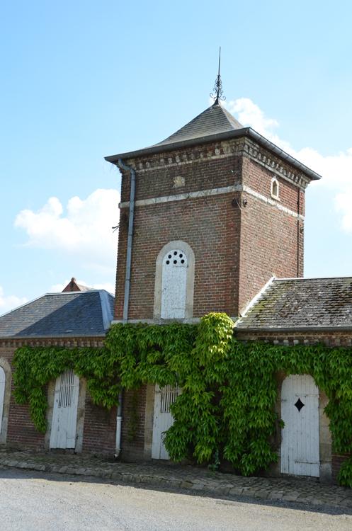 Pigeonnier de la ferme Carlier à Bouvincourt en Vermandois