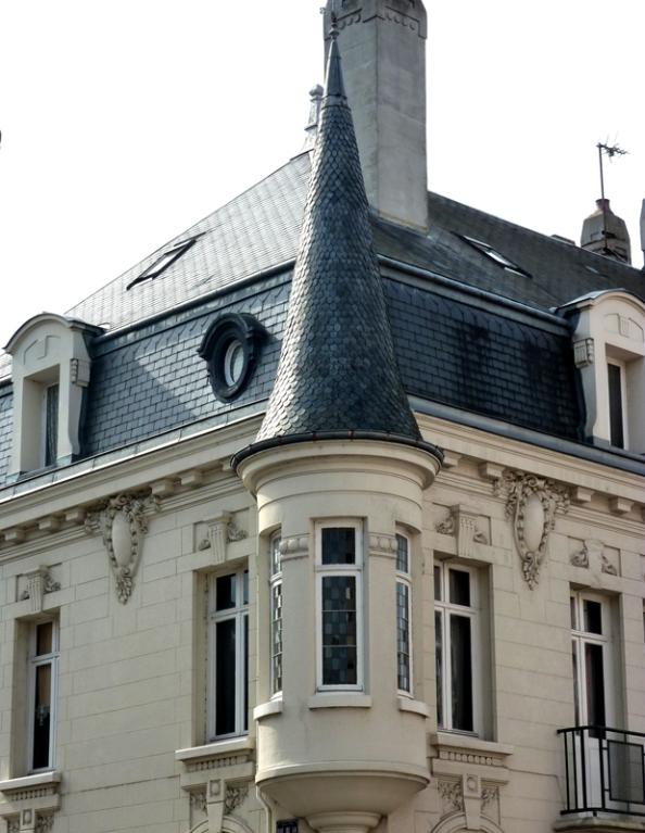 Angle Rue Frédéric Petit et rue de la Poudrière- Amiens
