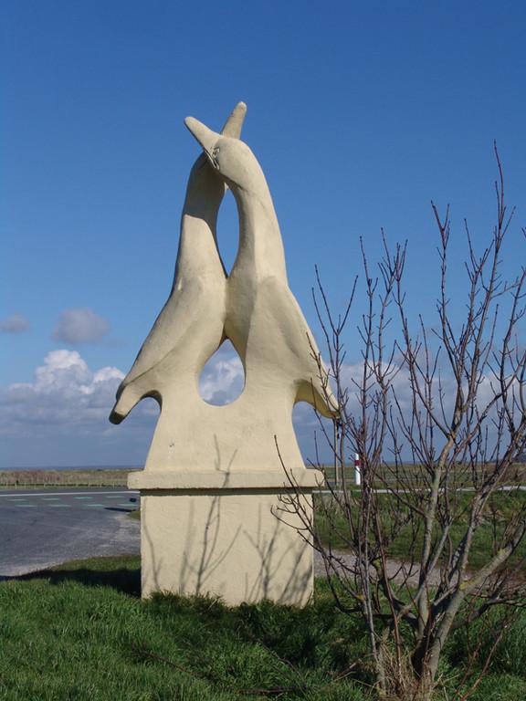 Sculpture à Lanchères