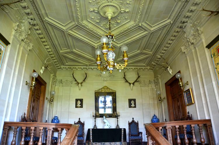 Plafond du premier étage