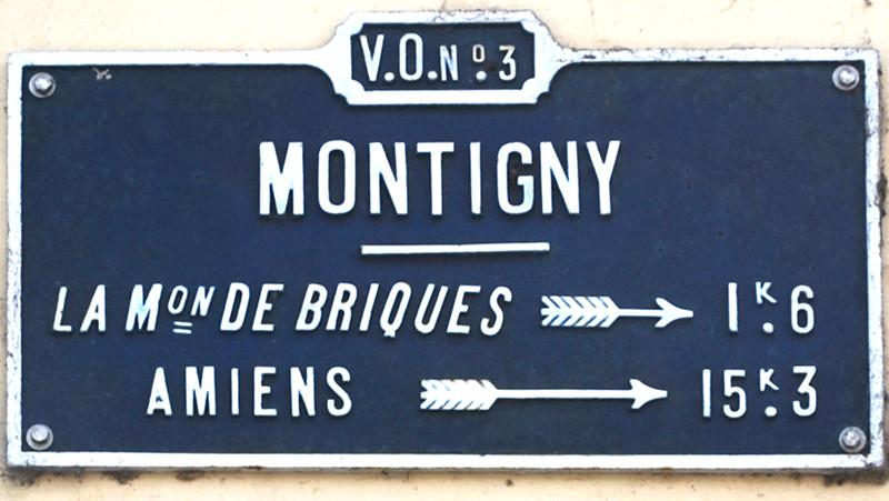 Montigny-sur-l'Hallue- Canton de Villers-Bocage
