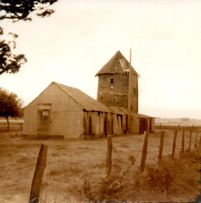 Le moulin à vent de Vaudricourt