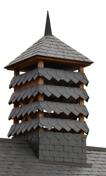 Cerisy-Gailly: joli clocheton sur les bâtiments annexes de la mairie