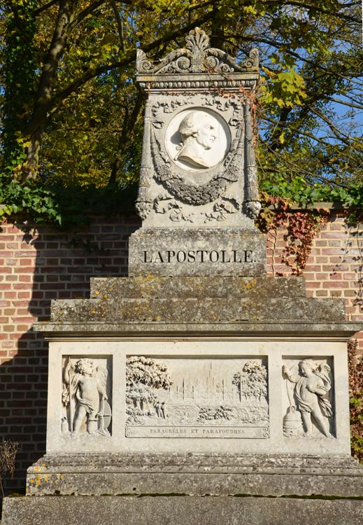 La sépulture d'Alexandre-Ferdinand Lapostolle, physicien et chimiste