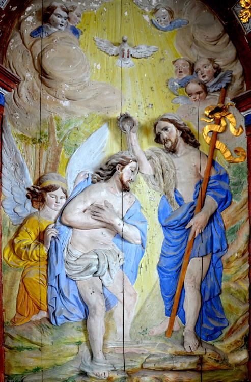 Le baptême de Saint-Jean-Baptiste- Eglise de Nampty
