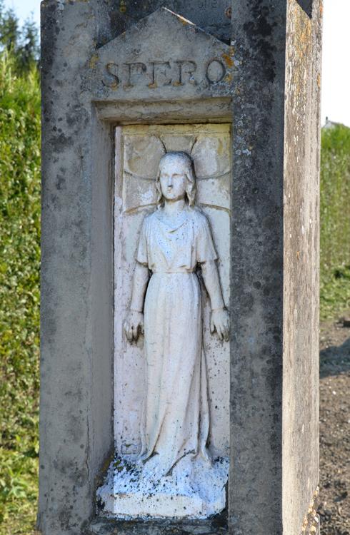 La tombe du peintre Eugène Buisson (1866-1899)