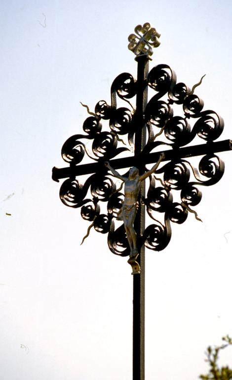 Croix de fer à Gueschart