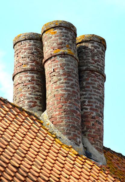 Les quatre cheminées de saint-Riquier