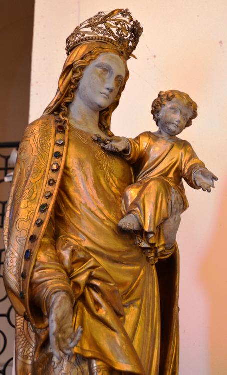Une Vierge à l'Enfant à l'église Saint-Jacques d'Amiens