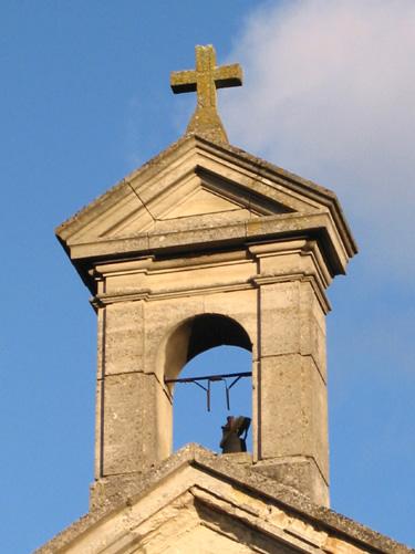 Clocher de la chapelle du château de Luzières