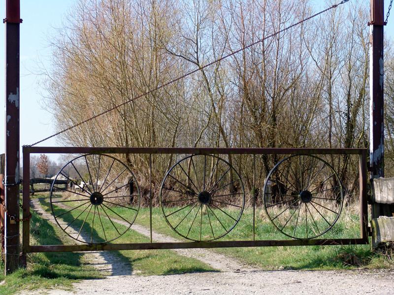 Barrière de pâture à Port-le-Grand