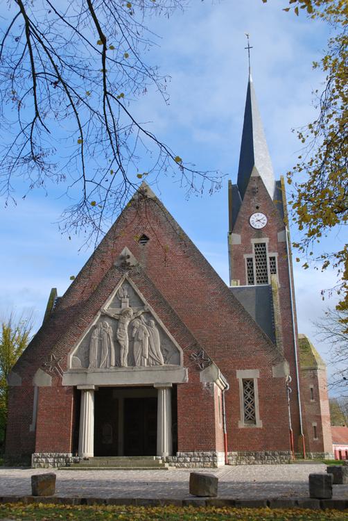 L'église d'Arvillers