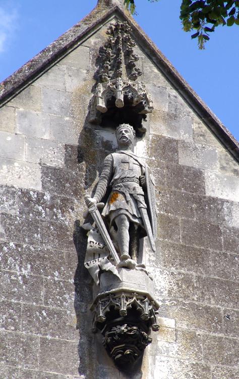 Statue de Godefroy de Bouillon- Eglise Saint-Sépulcre d'Abbeville