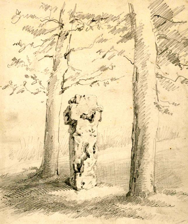 Cambron- La croix qui corne- Léon Gillard