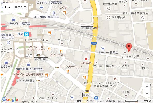藤沢 婚活 MAP